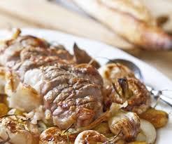 cuisiner navets nouveaux rôti de porc aux navets nouveaux et pommes de terre confits au four