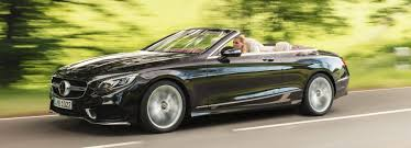 benz s class cabriolet unveiled at frankfurt motor show