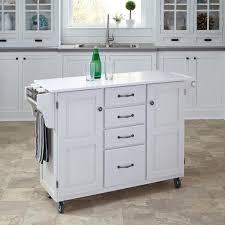 meryland white modern kitchen island cart baxton studio denver white kitchen cart with butcher block top