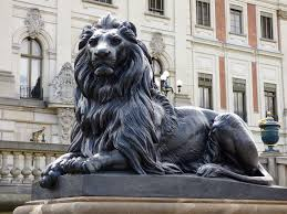 lion statue free photo lion the statue sculpture castle free image on