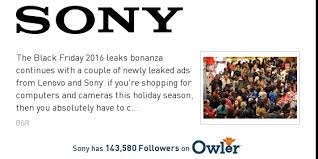 black friday sony rx100 sony news leaked black friday ads show lenovo and sony u0027s deals