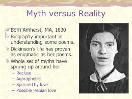 emily dickinson biography death emily dickinson the belle of amherst myth versus reality born