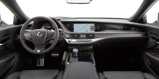 lexus ls interior 2017 2018 lexus ls f sport unveiled ahead of new york show photos 1
