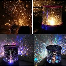 romantic led starry night sky projector lamp kids gift star light