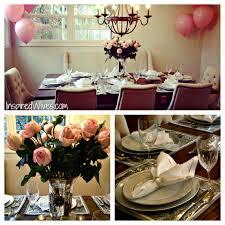 inspired i dos elegant dinner party think pink
