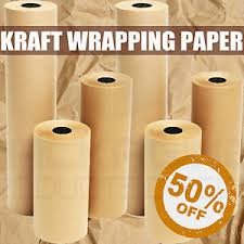 brown kraft wrapping paper strong parcel packing posting postal