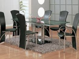 Retro Dining Room by Black Kitchen Table Set Good Looking Black Kitchen Table With