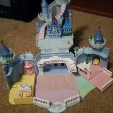 vintage polly pocket cinderella castle sale