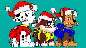 paw patrol christmas game learntoride