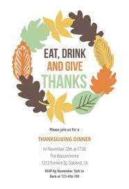thanksgiving wreath free thanksgiving invitation template