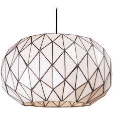 Geometric Pendant Light by White Glass Pendant Light Baby Exit Com