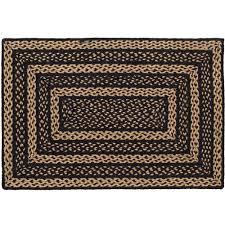 Rug With Stars Farmhouse Black And Tan Or Black And Tan With Stars Country