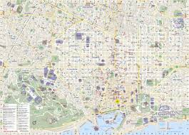 Map Of Barcelona Barcelona City Map World Map