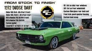 lowered dodge dart from stock to finish 1972 dodge dart w lowering kit custom