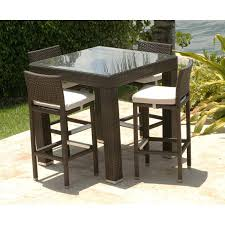 outdoor iron table and chairs bar height patio table and chairs brilliant bistro set wicker in