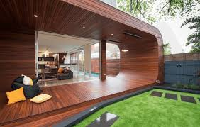 Deck In The Backyard Deck Ideas For Comfortable Entertainment In The Backyard Vevu Net