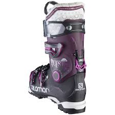 womens quest boots salomon quest pro 100 ski boots s 2016 evo