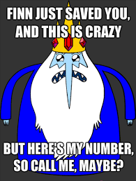 Call Me Maybe Meme - ice king call me maybe meme by love war on deviantart