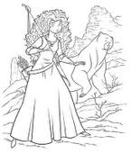Brave Coloring Pages Minister Coloring Disney Brave Coloring Pages