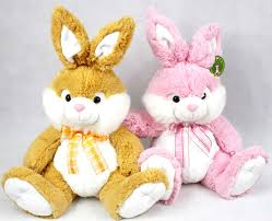 stuffed bunnies for easter wholesale plush animal toys stuffed soft easter rabbit bunny