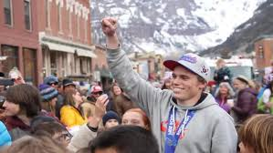 Wildfire Telluride Co by Telluride Welcomes Home Olympian Cbs Denver