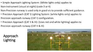 Approach Lighting System Airfield Ground Lighting Agl
