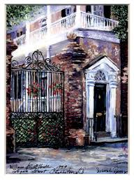 charleston single house charleston paintings