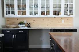 wood kitchen backsplash wood backsplash unique and inexpensive diy kitchen backsplash