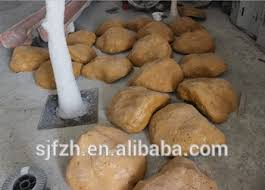 2014 sj ar031 wholesale china factory fake rock in waterfall