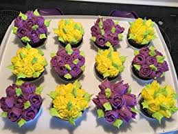 flower decorating tips amazon com russian piping tips 66 pcs cake decorating supplies