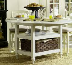 Narrow Dining Table by Dining Room Round Narrow Dining Table With Wicker Basket And