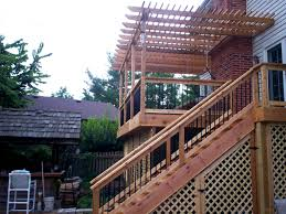 second story deck plans pictures deck design and building in chesterfield mo st louis decks