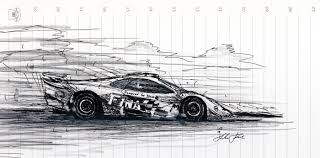 mclaren drawing mclaren f1 gtr by klem on deviantart