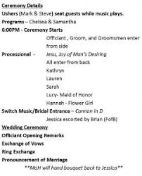 reception program template what to include in a wedding reception program sao mai center
