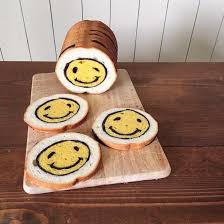 canap駸 lits cinna japanese baker hides edible illustrations inside loaves of bread