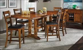 kitchen round dining table set solid wood dining table high top