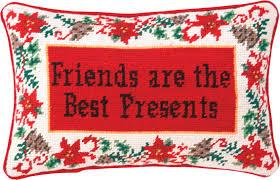 peking handicraft needlepoint friends are the best presents wool