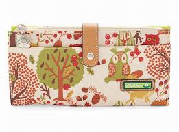 bloom wallet bloom wallet bloom large travel wallet forest owl