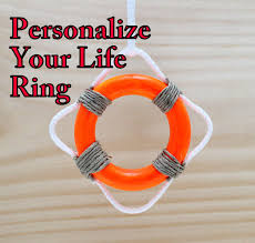 personalized preserver custom order for one mini ring customized rings