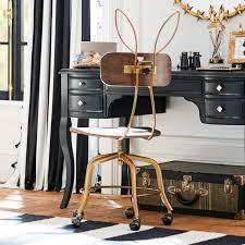 pottery barn desk chair the emily meritt bunny ears desk chair pbteen