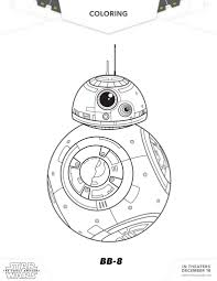 free download star wars the force awakens coloring sheets and
