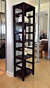 Tall Narrow Bookcase by Espresso Bookcase