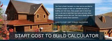 cost to build home calculator building costs calculator home design ideas