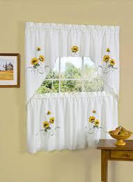 Wholesale Home Decor by Kitchen Sunflower Kitchen Curtains Ebay Embroidered Curtain 36