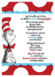 dr seuss birthday invitations dr seuss 1st birthday party invitations best party ideas