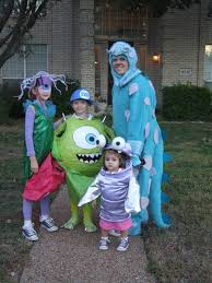 Halloween Costume Boo Monsters Inc Mike And Sully Halloween Costumes