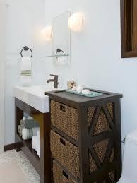 storage endearing bathroom shelves with baskets removable basket