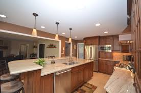 stained wood kitchen cabinets medium stained wood kitchen holmdel nj by design line kitchens