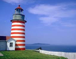 Light Houses Mainewideweb Com Attractions Light Houses West Quoddy Light