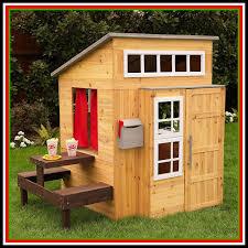 playhouse outdoor kids boys kidkraft outside backyard tiny house sale